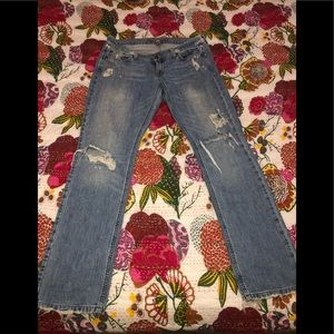 Abercrombie Erin Distressed Jeans